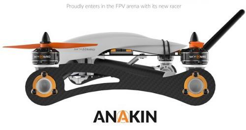 imagesSky-hero Anakin 4 FPV Racer Naked Frame kit - Natural Born Racer