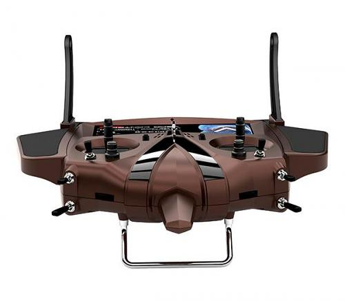VBar Control Touch Dark-Mocha with mounted tray and radio case.
