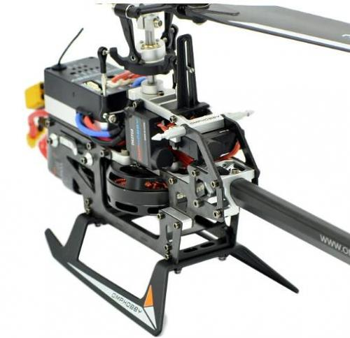 OMPHOBBY M2V2 Dual-brushless Motor 3D RC Helicopter BNF -Purple
