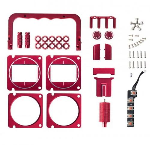 CNC Metal Upgrade Set Replacement Parts for TX16S- SILVER