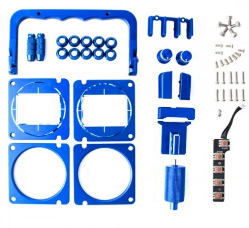 CNC Metal Upgrade Set Replacement Parts for TX16S-BLUE