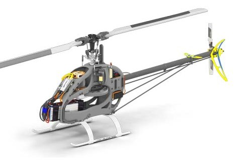 Mikado Helicopters Logo 550 SE V2 super combo