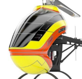 Mikado LOGO 800 Helicopter kit yellow/orange Scorpion Motor Combo