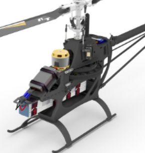 Mikado LOGO 800 Helicopter kit blue/yellow Scorpion Motor Combo